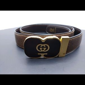 Authentic vintage Gucci belt